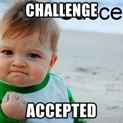 success baby - challenge accepted