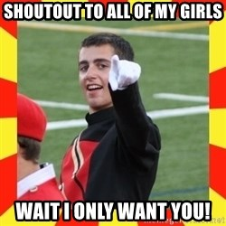 lovett - shoutout to all of my girls wait i only want you!