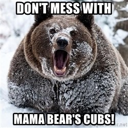 Clean Cocaine Bear - Don't mess with Mama Bear's cubs!
