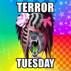 Insanity Scene Wolf - Terror Tuesday