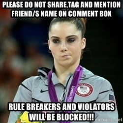 Not Impressed McKayla - PLEASE DO NOT SHARE,TAG AND MENTION FRIEND/S NAME ON COMMENT BOX RULE BREAKERS AND VIOLATORS WILL BE BLOCKED!!!