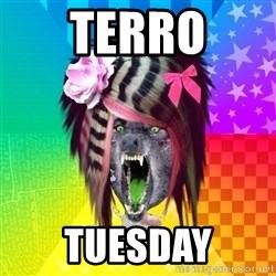 Insanity Scene Wolf - terro tuesdAY