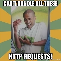 Why can't I hold all these limes - can't handle all these http requests!