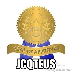 official seal of approval -  JCQTEUS