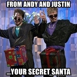 Dick in a box - From Andy and Justin ...your Secret Santa