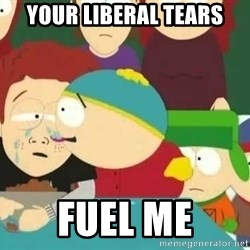 Cartman Delicious Tears - Your liberal tears Fuel me