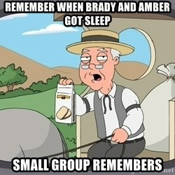 Family Guy Pepperidge Farm - Remember when Brady and Amber got sleep small group remembers