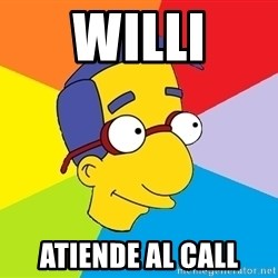 Milhouse - Willi Atiende al call