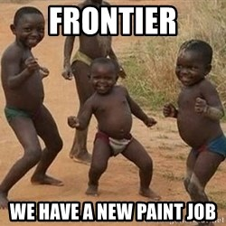 Dancing african boy - Frontier We have a new paint job