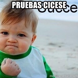 success baby - pruebas cicese