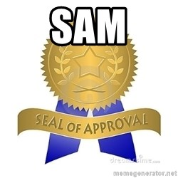 official seal of approval - SAM