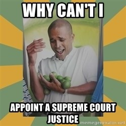 Why can't I hold all these limes - Why can't I appoint a supreme court justice