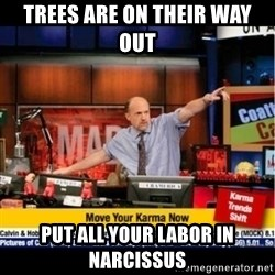 Mad Karma With Jim Cramer - Trees are on their way out Put all your labor in Narcissus