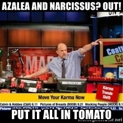 Mad Karma With Jim Cramer - Azalea and Narcissus? Out! put it all in tomato
