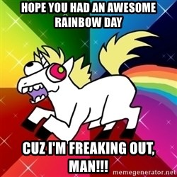 Lovely Derpy RP Unicorn - Hope you had an awesome rainbow day Cuz I'm freaking out, man!!!