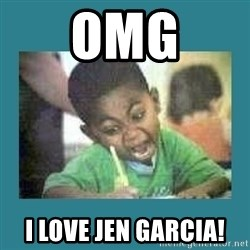 I love coloring kid - OMG I Love Jen Garcia!