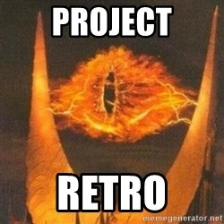 Eye of Sauron - Project retro