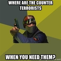 Counter Strike - Where are the Counter Terrorists when you need them?
