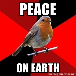 Retail Robin - PEACE ON EARTH