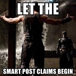 Bane Let the Games Begin - LET THE  SMART POST CLAIMS BEGIN