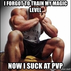 Fit Guy Problems - i forgot to train my magic level now i suck at pvp