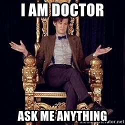 Hipster Doctor Who - i am doctor  ask me anything