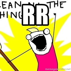 clean all the things - Rr
