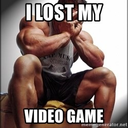 Fit Guy Problems - I lost my  video game