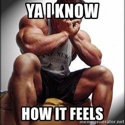 Fit Guy Problems - ya i know how it feels