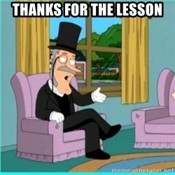 buzz killington - Thanks for the lesson