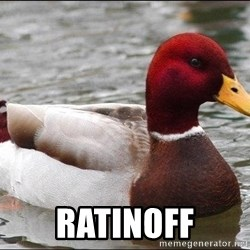 Malicious advice mallard -  Ratinoff
