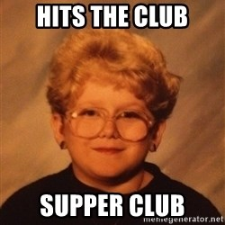 60 Year-Old Girl - Hits the club supper club