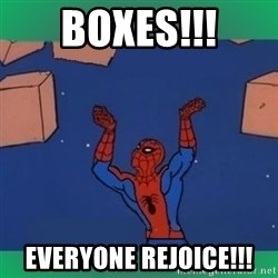 60's spiderman - BOXES!!! EVERYONE REJOICE!!!