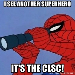 Spiderman Lunar Eclipse - I see another Superhero It's the CLSC!