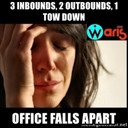 Mehbooba - 3 inbounds, 2 outbounds, 1 tow down Office falls apart