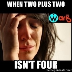 Mehbooba - when two plus two  isn't four
