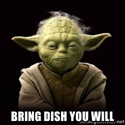 ProYodaAdvice -  Bring dish you will