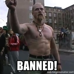 Techno Viking -  BANNED!