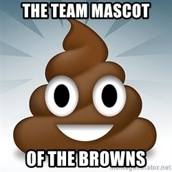 Facebook :poop: emoticon - The team mascot of the browns