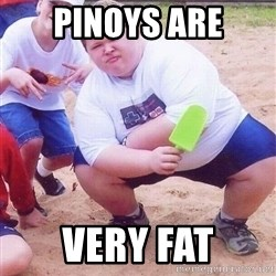 American Fat Kid - pinoys are very fat