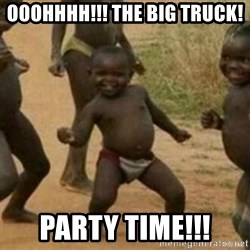 Black Kid - Ooohhhh!!! The Big Truck!  Party Time!!!