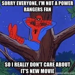 Spiderman Tree - Sorry everyone, I'm not a power rangers fan So I really don't care about it's new movie