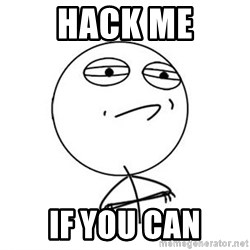 Challenge Accepted HD 1 - Hack me If you can