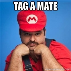 SUPERSEXYMARIO - Tag a mate