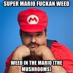 SUPERSEXYMARIO - SUPER MARIO FUCKAN WEED WEED IN THE MARIO (THE MUSHROOMS)