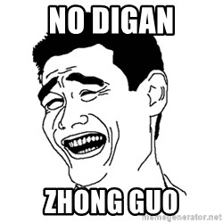 Asian Troll Face - No digan zhong guo