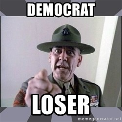 R. Lee Ermey - democrat loser