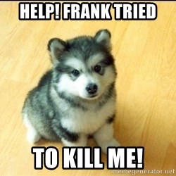 Baby Courage Wolf - Help! Frank tried to kill me!