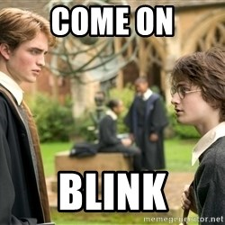 Harry Potter  - come on blink