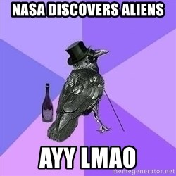 Rich Raven - NASA discovers aliens ayy lmao